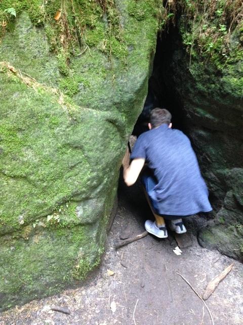 Daniel in der Höhle